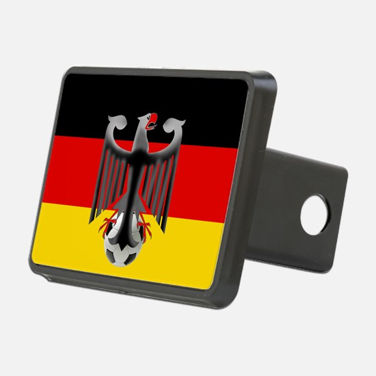 German Soccer Flag Hitch Cover