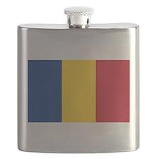Romanian Flag Flask
