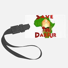 save_darfur01.png Luggage Tag