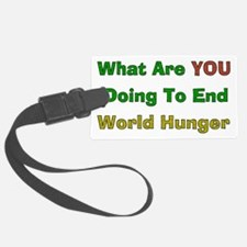 world_hunger01.png Luggage Tag