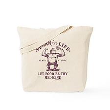 Vegan for Life Tote Bag