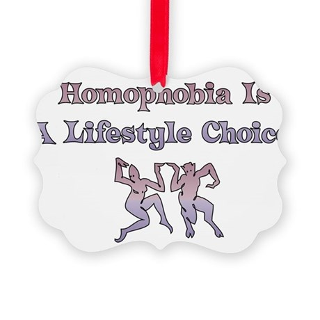 homophobia01.png Picture Ornament