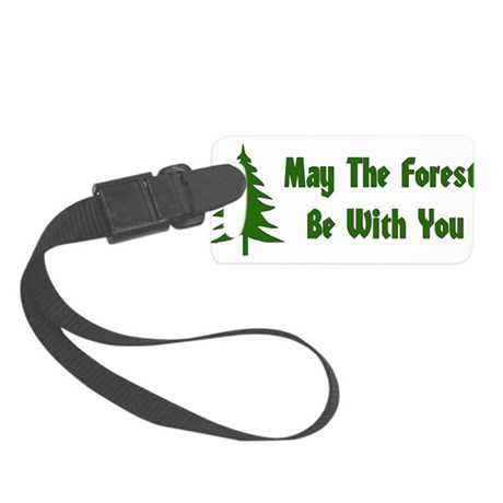 forest01x.png Small Luggage Tag