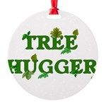 treehugger01.png Round Ornament