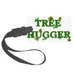 treehugger01.png Large Luggage Tag