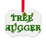 treehugger01.png Picture Ornament