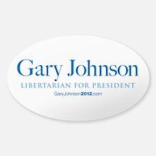 Gary Johnson 2012 Decal