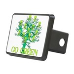 earth_day_skull02.png Rectangular Hitch Cover