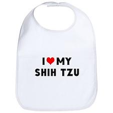 LUV MY SHSH TZU Bib
