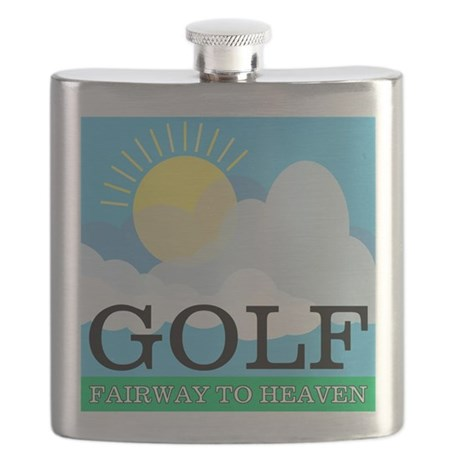 Golf Fairway to Heaven Flask