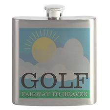 Golf Fairway to Heaven Flask