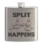 Split Happens Bowling Flask