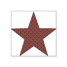 "2-star_tapestry01.png Square Sticker 3"" x 3"""