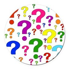 question01.png Round Car Magnet