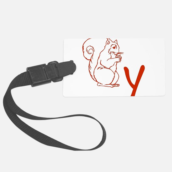 squirrely01.png Luggage Tag