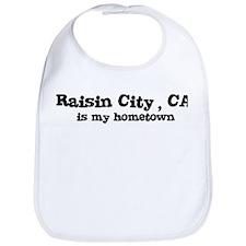 Raisin City - hometown Bib