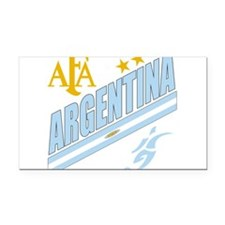 Argentina(blk).png Rectangle Car Magnet