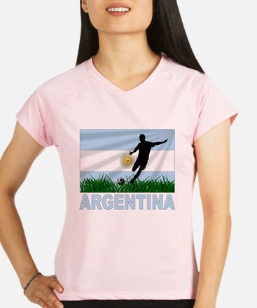 Argentina(blk).png Performance Dry T-Shirt