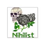 nihilist01.png Square Sticker 3