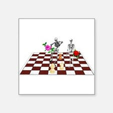 """chess01.png Square Sticker 3"""" x 3"""""""