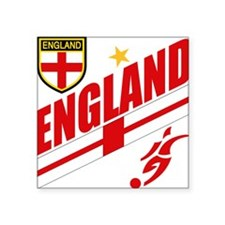 """england.png Square Sticker 3"""" x 3"""""""