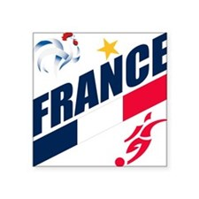 "france.png Square Sticker 3"" x 3"""