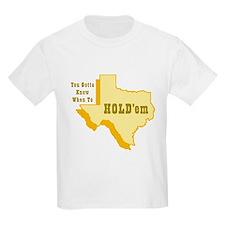Texas Hold'em Kids T-Shirt