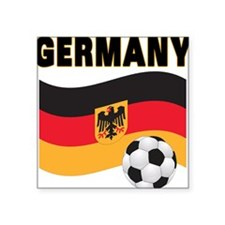 "germany soccer.png Square Sticker 3"" x 3"""