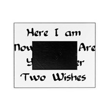 hereiamnowhatareyourothertwowishes.png Picture Frame