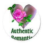 lastromantic01a.png Round Car Magnet
