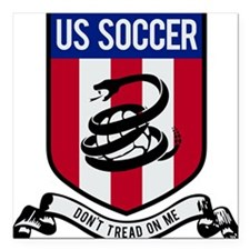 """USA(blk).png Square Car Magnet 3"""" x 3"""""""