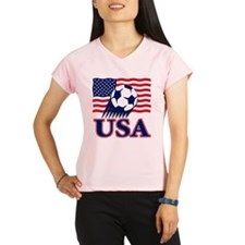 USA(blk).png Performance Dry T-Shirt