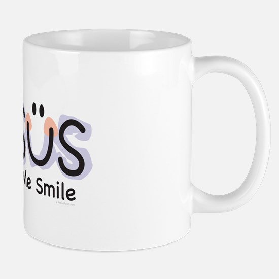 Jesus Makes Me Smile: Mug