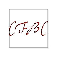"cfbc02.png Square Sticker 3"" x 3"""