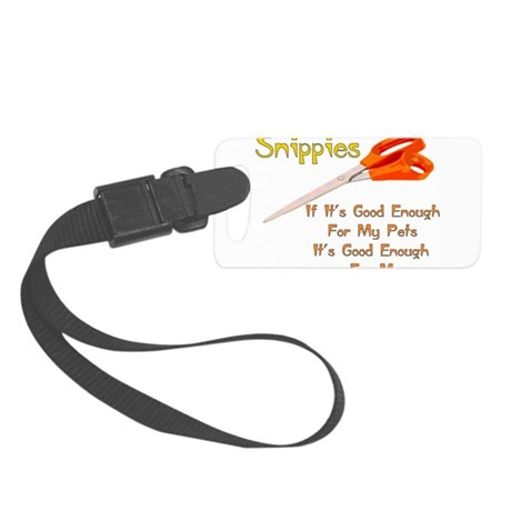 snippies01.png Small Luggage Tag