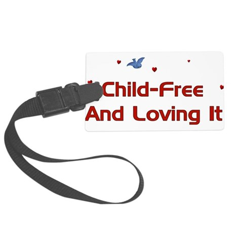 childfree01a.png Large Luggage Tag