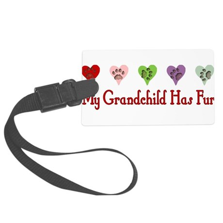 catfur01a.png Large Luggage Tag