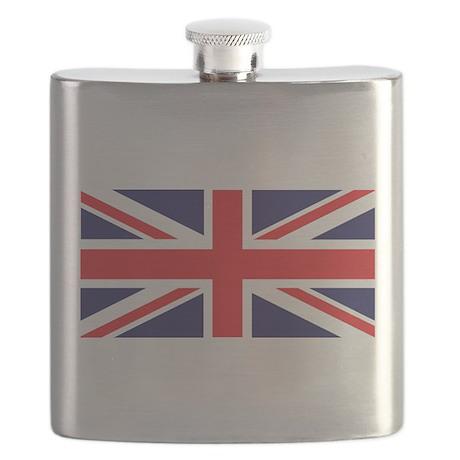 Union Jack United Kingdom Flag Flask