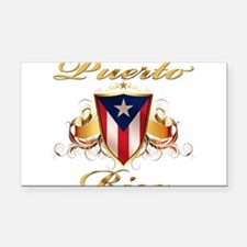 puerto rico.png Rectangle Car Magnet