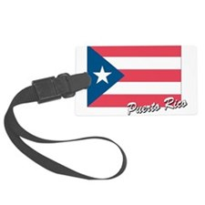 flag of puerto rico.png Luggage Tag
