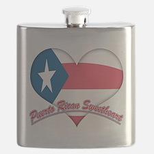 Puerto Rican Sweetheart Flask