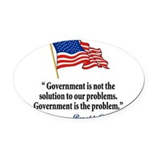 thomas jefferson.png Oval Car Magnet