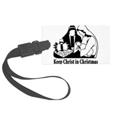 Keep christ in christmas.png Luggage Tag