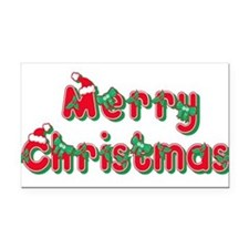 merry christmas 23.png Rectangle Car Magnet