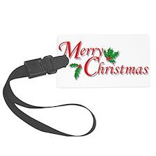 7-6-5-4-3-Merry Christmas T-Shirt.png Luggage Tag