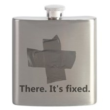 there. it's fixed. duct tape Flask