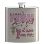 At Least I can Fish! Flask