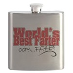 World's Best Farter (oops.. FATHER!) Flask