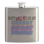 Crabby Mommy Powers Flask