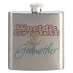 World's Greatest Godmother Flask